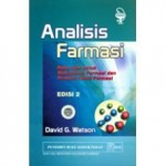 Buku Analisis Farmasi Edisi 2 – David Watson