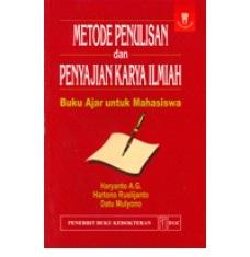Buku Metode Penulisan Penyajian Karya Ilmiah