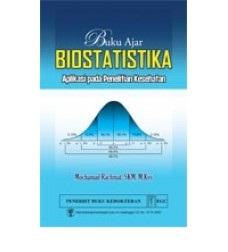 Buku Ajar Biostatistika: Aplikasi Praktik pada Penelitian Kesehatan