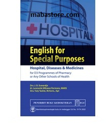 Buku English for Special Purposes Hospital, Diseases Medicines