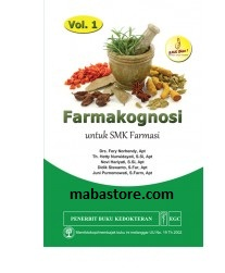 Buku FARMAKOGNOSI untuk SMK Farmasi Volume 1