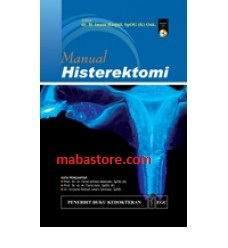 Buku Manual Histerektomi + CD Berwarna